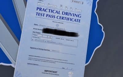 Joe passes 1st time with ONLY 4 driving faults