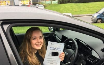 Hannah Passes 1st Time with 3 faults at our Academy
