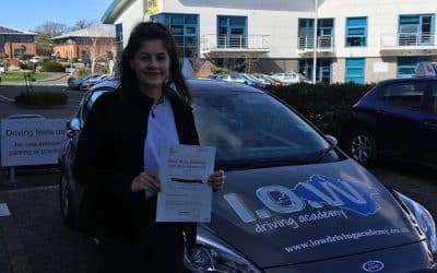 Isobel Passes 1st Time with only 2 faults