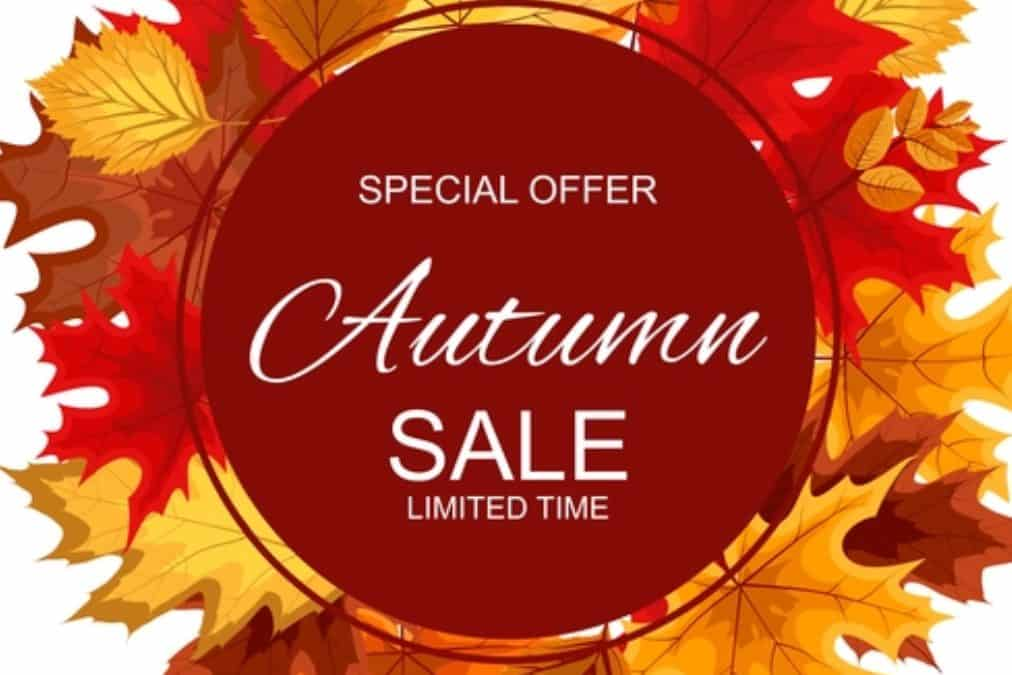 Autumn Offer – SAVE £40.00