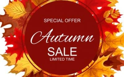Autumn Sale – Ends 31st Nov 2019