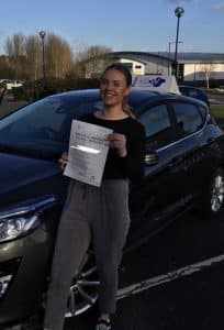 Clarice passes First Time with Academy