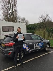 Steve Thomas passes first time with the Academy