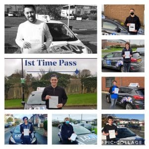 8 TESTS & 8 FIRST TIME PASSES