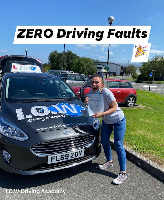Sian Passes with zero driving faults